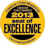 Creative Child 2013 Seal of Excellence