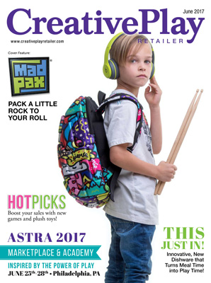 Creative Play Retailer magazine cover