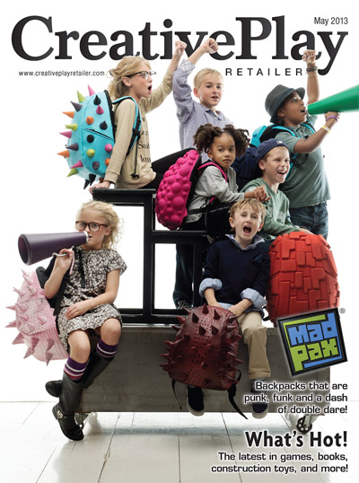 Creative Play Retailer Feb 2013 Magazine Cover