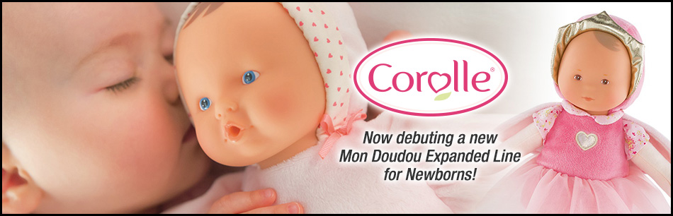 Corolle to debut mon doudou