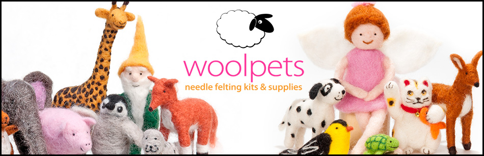 woolpets needle felting kits and supplies