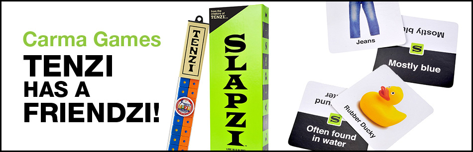 Carma Games: Think in a blink with slapzi