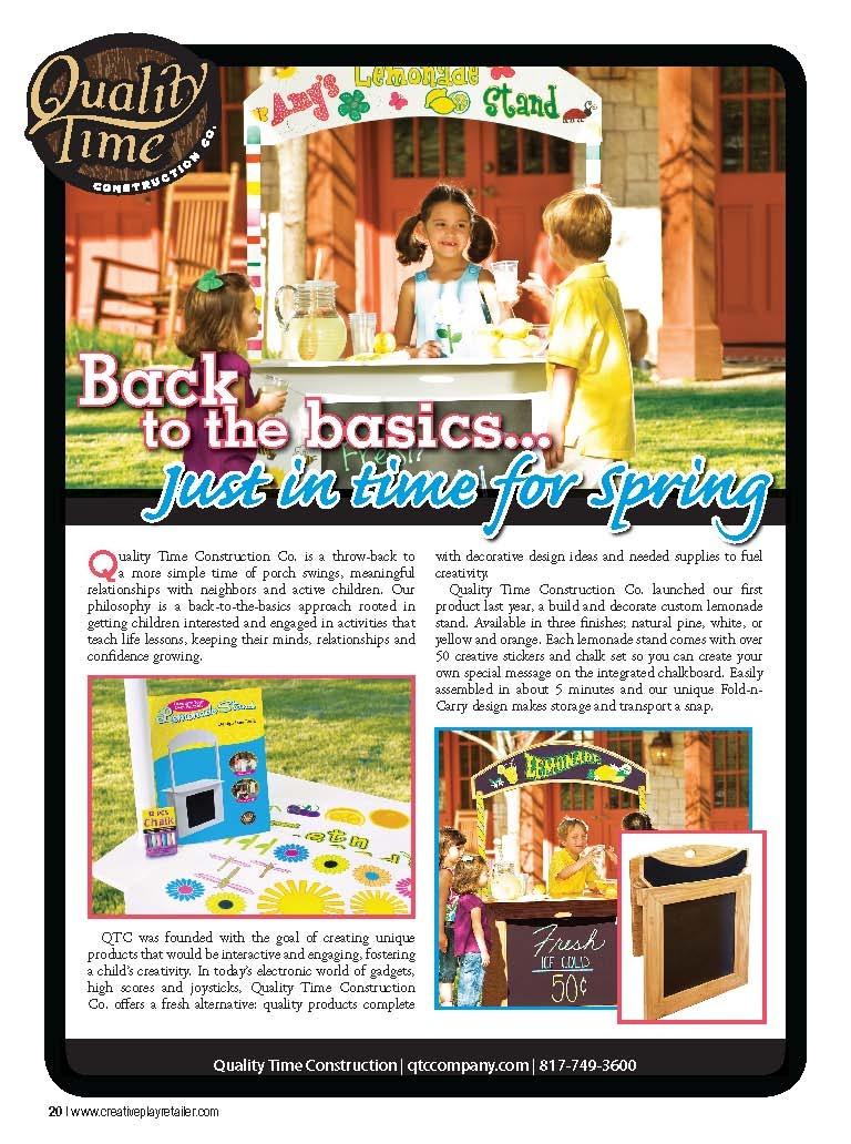 Creative Play Retailer Magazine | Magazine