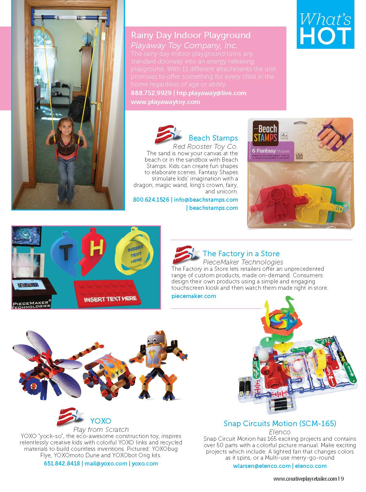 Creative Play Retailer Magazine Snap Circuits 300jrwondefrful Toy8 And Over Kids 9 Page 10