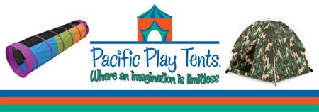 Pacific Play Tents Logo Banner